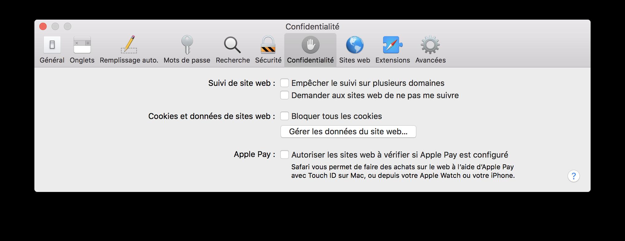 Sous MacOS 1012 Et Precedents