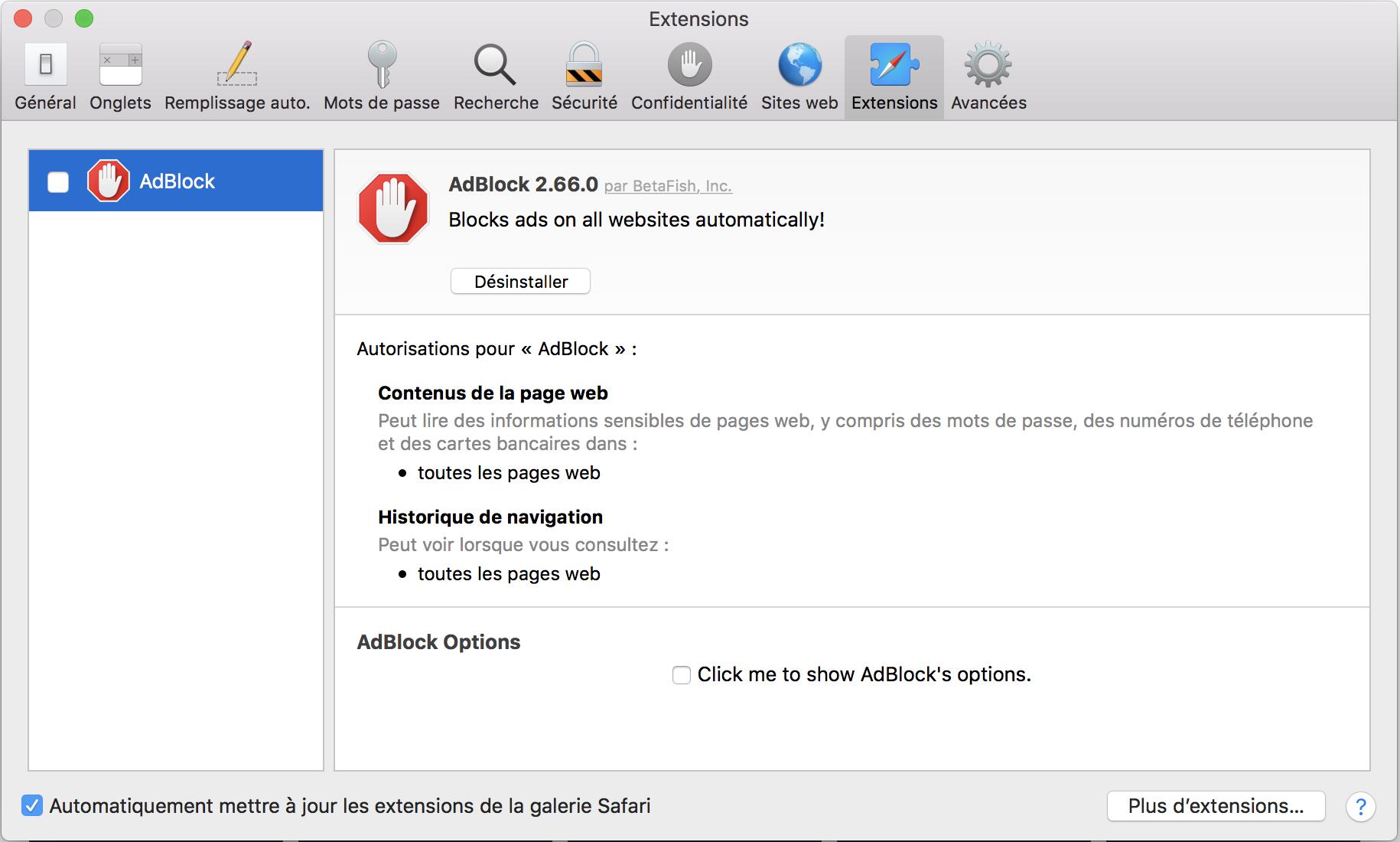 Sur MacOS 1012 Et Precedents