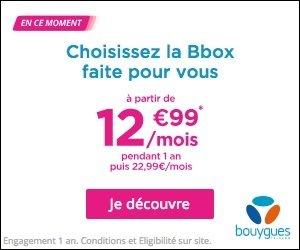 Bbox - Bouygues Telecom FAI