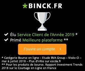 Binck - Bourse