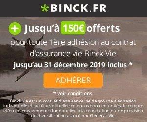 Binck - Assurance Vie