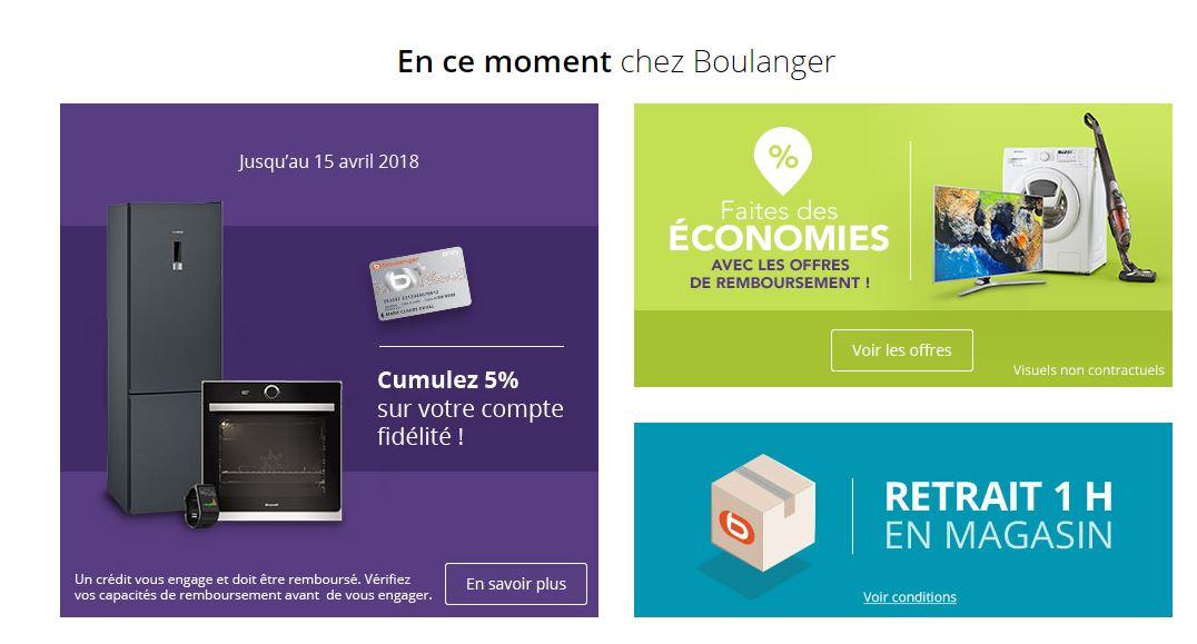 Carte Fidelite Boulanger En Ligne.ᐅ Meilleur Code Promo Boulanger 2019 ᐅ Jusqu A 5